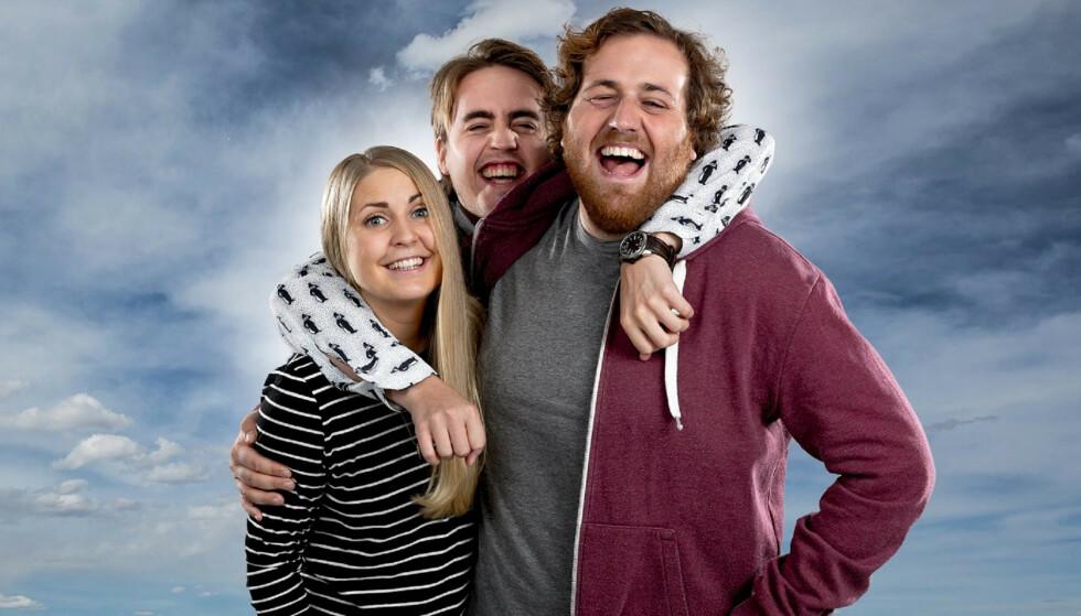 VIL FINNE PÅ NOE NYTT: Ronny Brede Aase, Silje Nordnes og Markus Neby er snart ferdige som ledere av «P3Morgen». Foto: NRK
