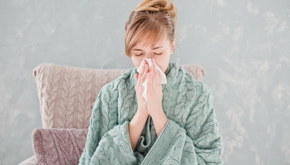 NYTT VIRUS HVERT ÅR: Hver eneste vinter kommer influensaviruset. For de fleste av oss er det ufarlig, men fryktelig plagsomt. Foto: NTBScanpix