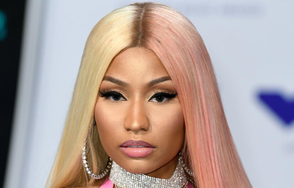 PENSJONIST: Rapstjerna Nicki Minaj melder på Twitter at hun legger opp. Foto: NTB scanpix