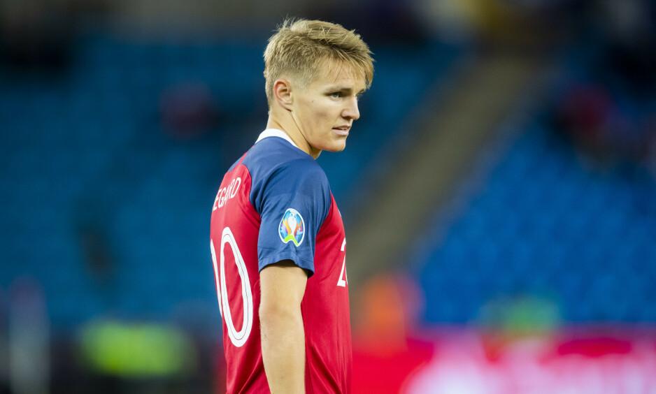 TIL STOCKHOLM: Martin Ødegaard og Norge slo Malta 2-0. Søndag venter Sverige. Foto: Håkon Mosvold Larsen / NTB scanpix