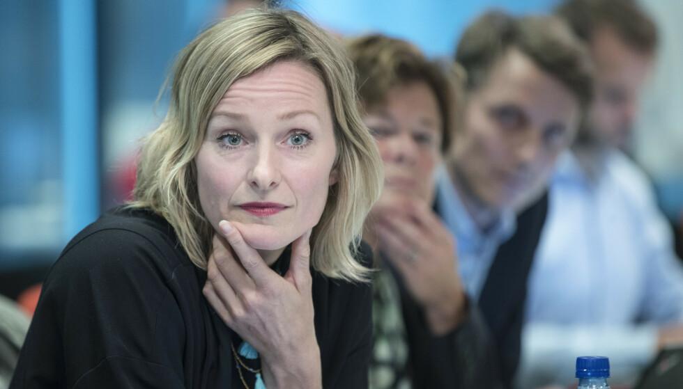 OPPVEKSTBYRÅD: Byråd for oppvekst og kunnskap Inga Marte Thorkildsen (SV) vil ha alle kommersielle ut av barnevernet i Oslo innen 30. juni 2021. Foto: Vidar Ruud / NTB scanpix