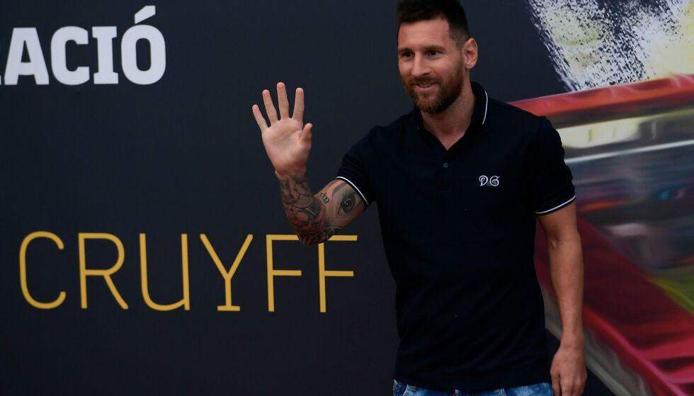 KAN FORLATE BARCELONA: Messi har kontrakt ut 2020/21-sesongen, men kan forlate klubben før den siste sesongen. Foto: LLUIS GENE / AFP / NTB Scanpix
