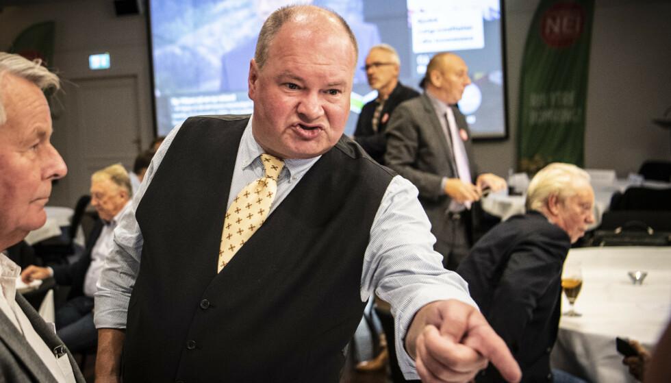 NEKTER: FNBs førstekandidat Trym Aafløy sier organisasjonen er blant de mest demokratiske som finnes. Foto: Lars Eivind Bones / Dagbladet