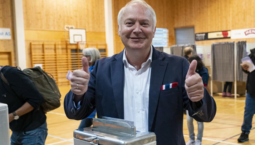 "<strong>HAR BESTEMT SEG:</strong> Demokratene og Vidar Kleppe vil gjøre KrFs Jørgen Kristiansen til ordfører. Foto: Tor Erik Schr""der / NTB scanpix"