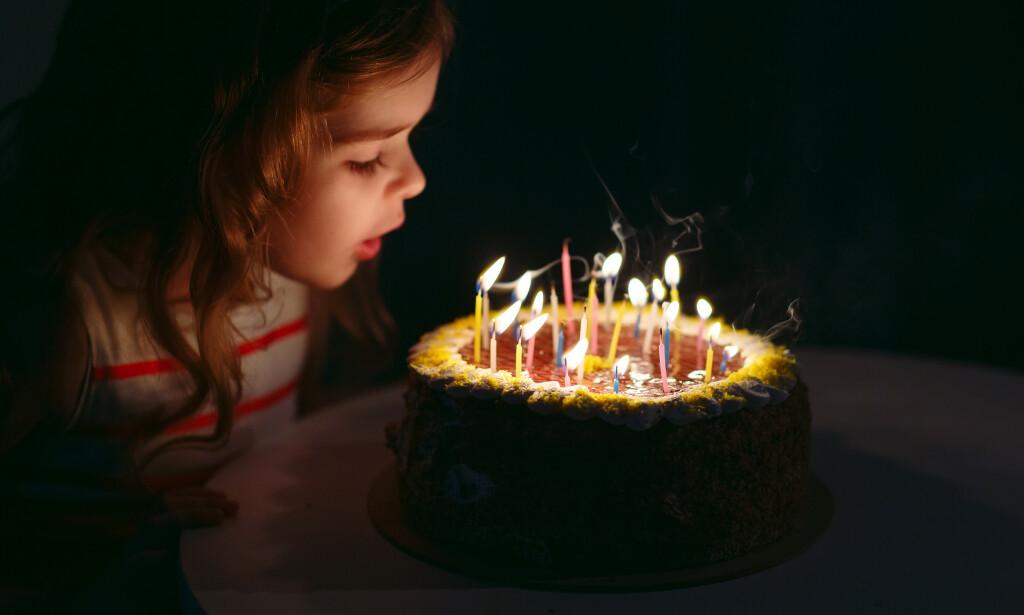 BARNEBURSDAG: Foreldre har skyld når barna ikke dukker opp i bursdag, mener Merethe Elin Kvia. Illustrasjonsfoto: Shutterstock / NTB Scanpix