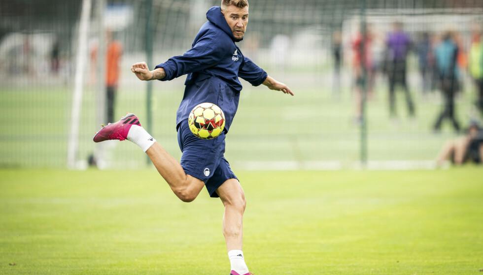 INGEN PANGSTART: Nicklas Bendtner fant ikke nettmaskene da han spilte for FCKs reservelag tirsdag. Foto: AP.
