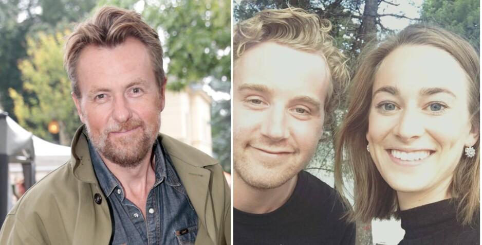 GIFTET SEG: Fredrik Skavlans eldste sønn, Georg, har giftet seg med kjæresten Johanne Paasche. Foto: NTB Scanpix/Privat