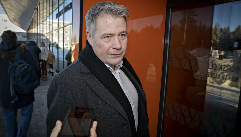 FULL KRANGEL: Per-Willy Amundsen sier til Dagbladet at grensen ble nådd da Abid Raja gikk til angrep mot regjeringskolleger i Frp fredag kveld. Foto: Bjørn Langsem / Dagbladet