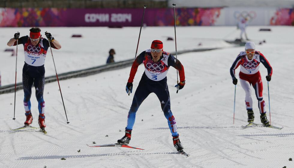 FORTSATT GODKJENT SEIER: Rettsoppgjøret med svindelen i Sotsji er sannsynligvis avsluttet. Det endte med gull til Aleksandr Legkov og ingen flere russiske dopingsaker. Foreløpig. FOTO: AFP/Kirill Kudryavtsev