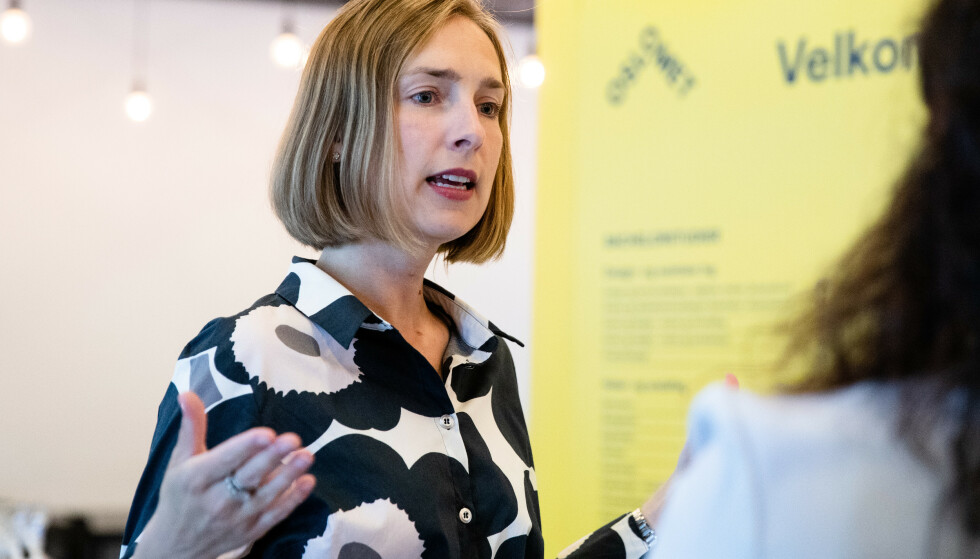 NYTT PRINSIPP-PROGRAM: Iselin Nybø leder arbeidet med et nytt prinsipprogram i Venstre. Foto: Audun Braastad / NTB scanpix