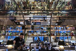 MAT OG DRIKKE: Köd byr også på en rikholdig bar.