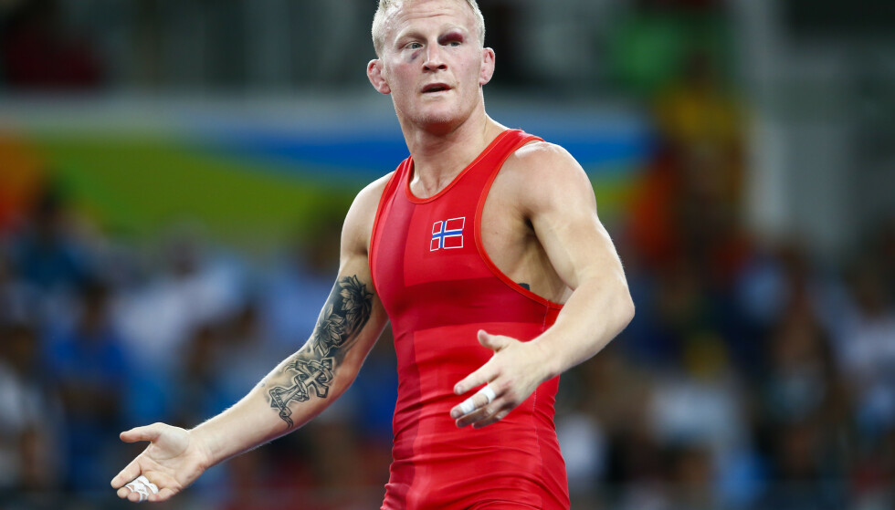 BRYTE-HELT: Stig-André Berge, her fra sommer-OL i Rio. Foto: NTB Scanpix.