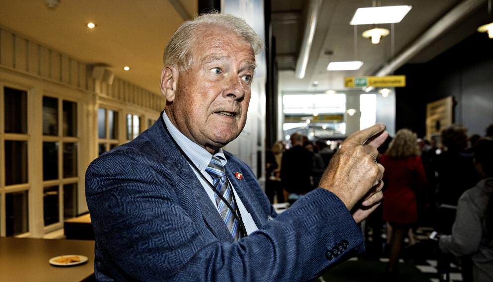 DOBLER: Carl I. Hagen har bestemt seg for å slåss for stille til valg både i Oppland og Oslo. Foto: Nina Hansen / DAGBLADET