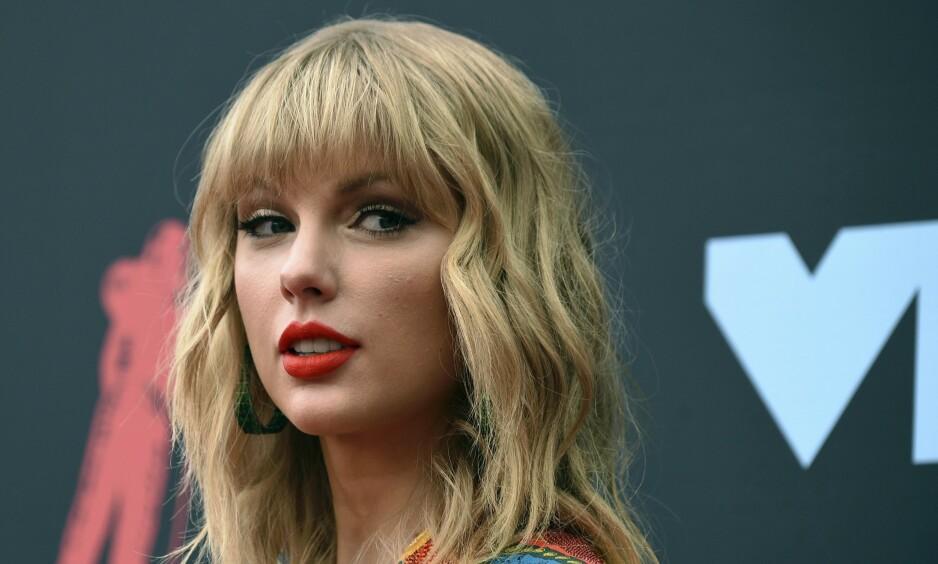 TIL NORGE: Popstjerna Taylor Swift. Foto: Evan Agostini / NTB Scanpix