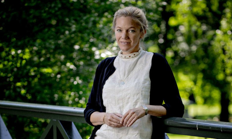 Maja Lunde har oppnådd eventyrlig suksess, både i Norge og internasjonalt, med klimaromanene «Bienes historie» og «Blå». Nå er hun ute med bok nummer tre i det som skal bli en kvartett. Foto: Bjørn Langsem