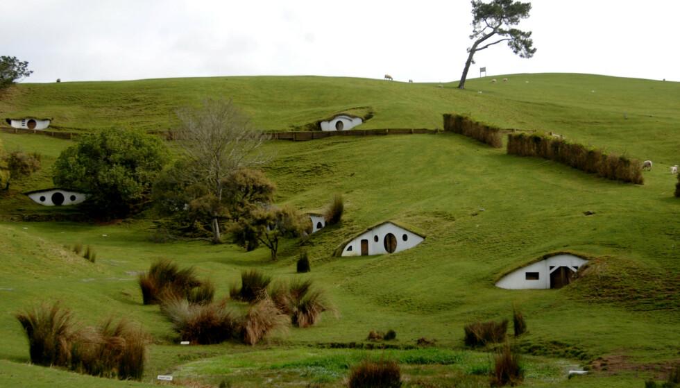 SKAL «HJEM»: Amazon Primes tv-serie «The Lord of the Rings» skal spilles inn i på New Zealand, i likhet med filmene. Her ser man settet hvor scenene fra Hobbittun ble spilt inn. Foto: NTB