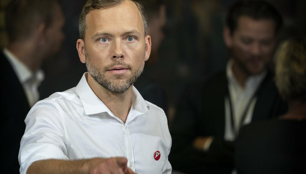 KREVER SVAR: Audun Lysbakken vil ha svar på hvordan Martin Linge-feltet kan bli 85 prosent dyrere enn planlagt.   Foto: Hans Arne Vedlog