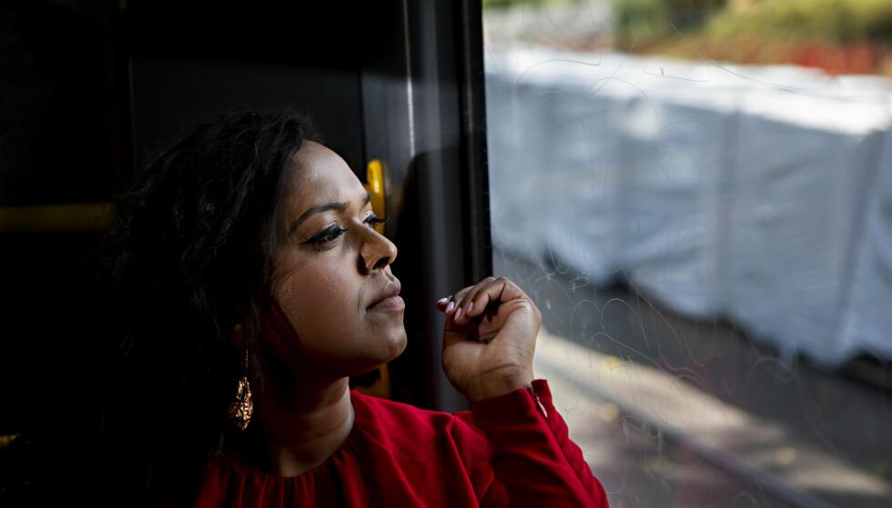 MÅTTE UT: Kamzy Gunaratnam måtte ta en pause fra AUF og Ap for å finne tilbake til sin egen stemme og sitt eget engasjement. Nå er hun varaordfører i Oslo, nestleder i Oslo Ap og stortingskandidat. Foto: Frank Karlsen / Dagbladet