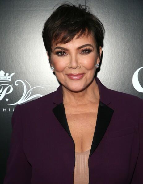 <strong>SKREMMENDE:</strong> Gajda innrømmer at Kris Jenner kan være litt skremmende til tider. Foto: NTB Scanpix