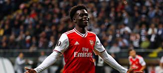 18-åring herjet for Arsenal