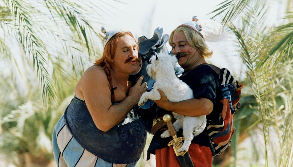 RARE ROMERE: Min gamle følelse av at Asterix og Obelix er den mest historisk korrekte skildring av antikkens virkelighet, er styrket etter endt lesning av Mary Beards bok, skriver anmelderen. Her fra filmen fra 2002. Foto: NTB Scanpix