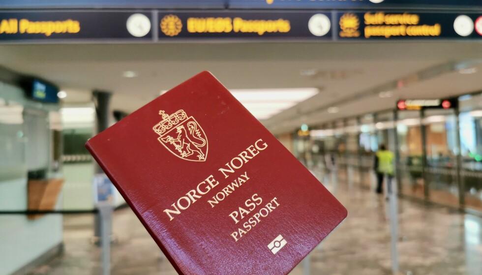 Nye passregler: Norge får nye passregler i 2020. Det vil endre reisehverdagen for mange. Foto: Odd Roar Lange/The Travel Inspector