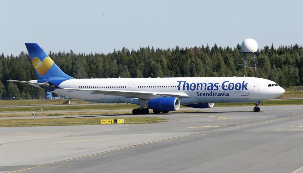 RISIKERER KONKURS: Thomas Cook, som eier reiseselskapet Ving. Foto: Vidar Ruud / NTB scanpix