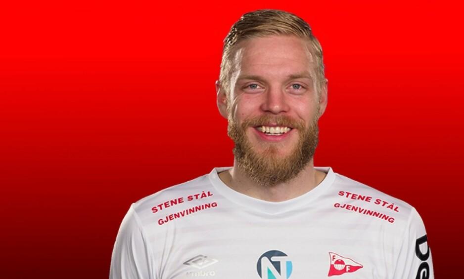 BRA SESONG: Mads Nielsen er én av flere 2. divisjonsspillere som har hatt en god sesong. Foto: Fredrikstad FK