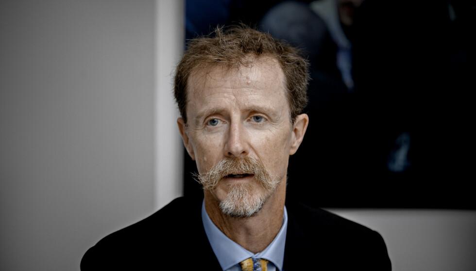 <strong>KRITISK:</strong> FNs spesialrapportør på menneskerettigheter og miljø David Boyd mener Norge bidrar til brudd på menneskerettigheter gjennom vår petroleumsvirksomhet. Foto: Jørn Moen