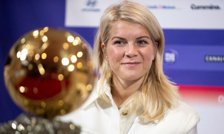 STJERNE: Ada Hegerberg gikk ikke til topps i FIFA-kåringen «The Best». Foto: ROMAIN LAFABREGUE / AFP