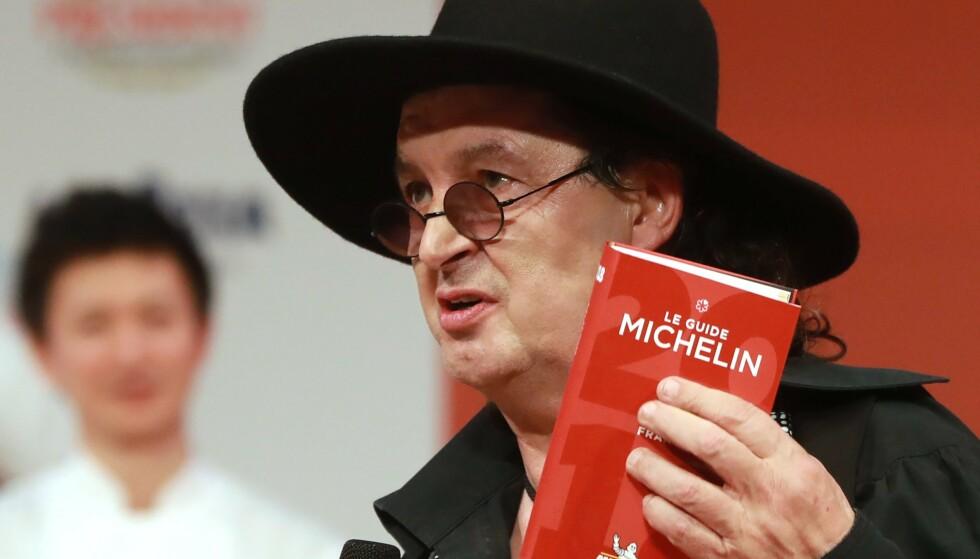 SAKSØKER: Marc Veyrat saksøker Michelin-guiden fordi han mener at han ble frarøvet en stjerne på feilaktig grunnlag. Arkivfoto: Scanpix