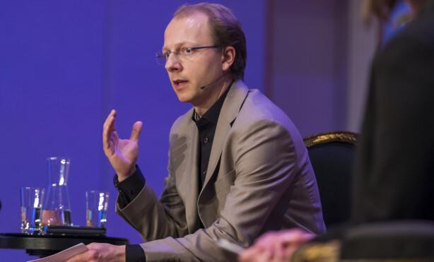 FÅR REAKSJONER: Også klimaforsker Bjørn Samset får fiendtlige kommentarer på sosiale medier. Foto: Heiko Junge / NTB Scanpix
