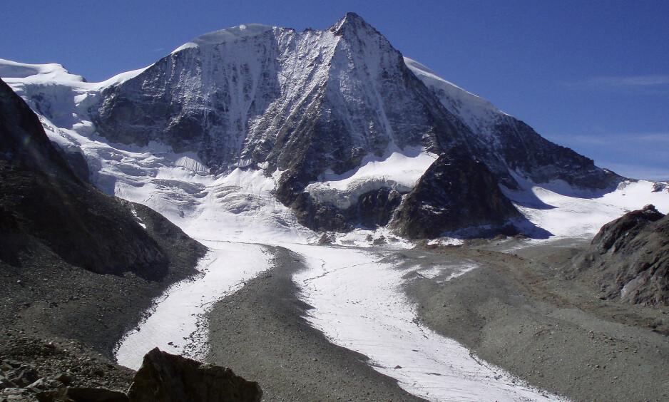 TAPT KONTINENT: Forskere ved universitetet i Utrecht har funnet et tapt kontinent som dukket under Sør Europa for millioner av år siden. Det skal være fra dette kontinentet at fjellkjeder som Alpene oppsto. Foto: Reuters / NTB Scanpix