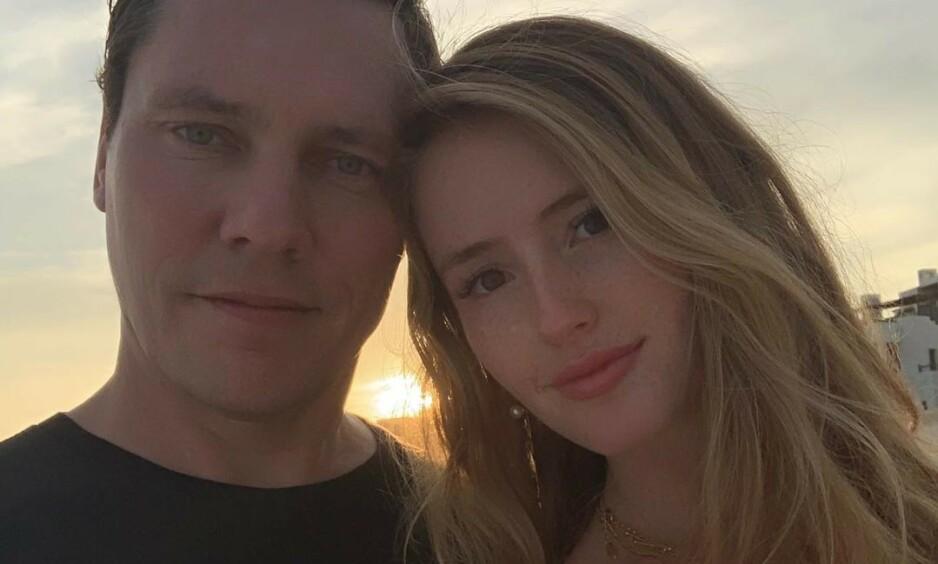 NYGIFT: Lørdag giftet den nederlandske DJ-en Tiësto seg med kjæresten gjennom fire år, Annika Backes. Foto: Instagram / @tiesto