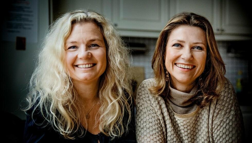 SAMMEN: Under lanseringen av boka «Sensititive barn» i 2018. Men allerede da hadde venninneforholdet mellom Märtha Louise og Elisabeth Nordeng begynt å skrante, forteller Nordeng i ny bok. Foto: Jørn H. Moen