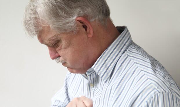 VONDT: I noen tilfeller kan halsbrannen være tegn på mer alvorlig sykdom. Foto: NTB