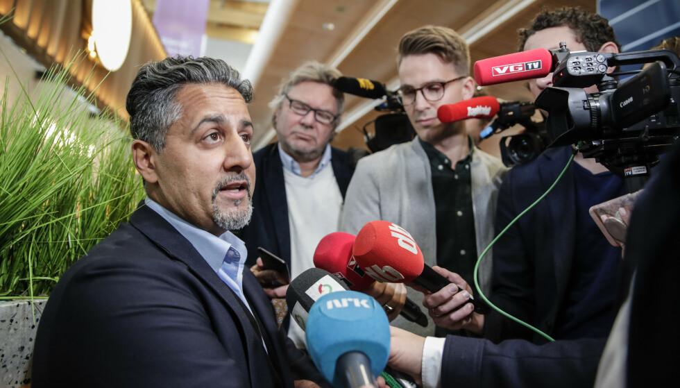 REAKSJONENE: Kjære statsminister, problemet er ikke Raja, men reaksjonene! Det er vi som samfunn, og norsk presse, som blir lurt utpå igjen, skriver innsenderen. Foto: Vidar Ruud / NTB Scanpix