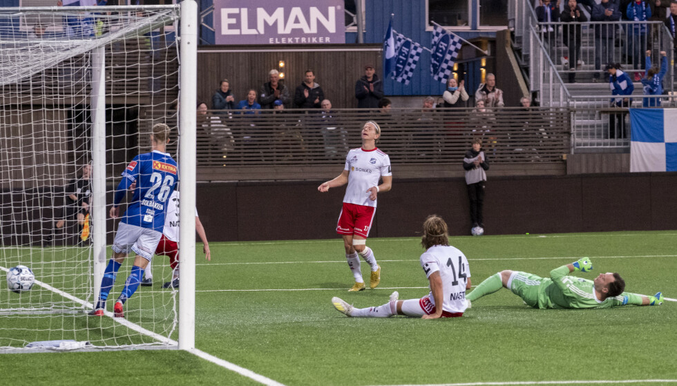 <strong>CUPEXIT:</strong> Ranheim slo Fram Larvik 3-0. Foto: Ned Alley / NTB scanpix