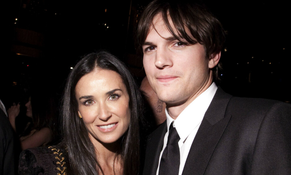 VONDT BRUDD: Ashton Kutcher er i dag gift med Mila Kunis, men tidligere var han i et seks år langt ekteskap med Demi Moore. Foto: NTB Scanpix