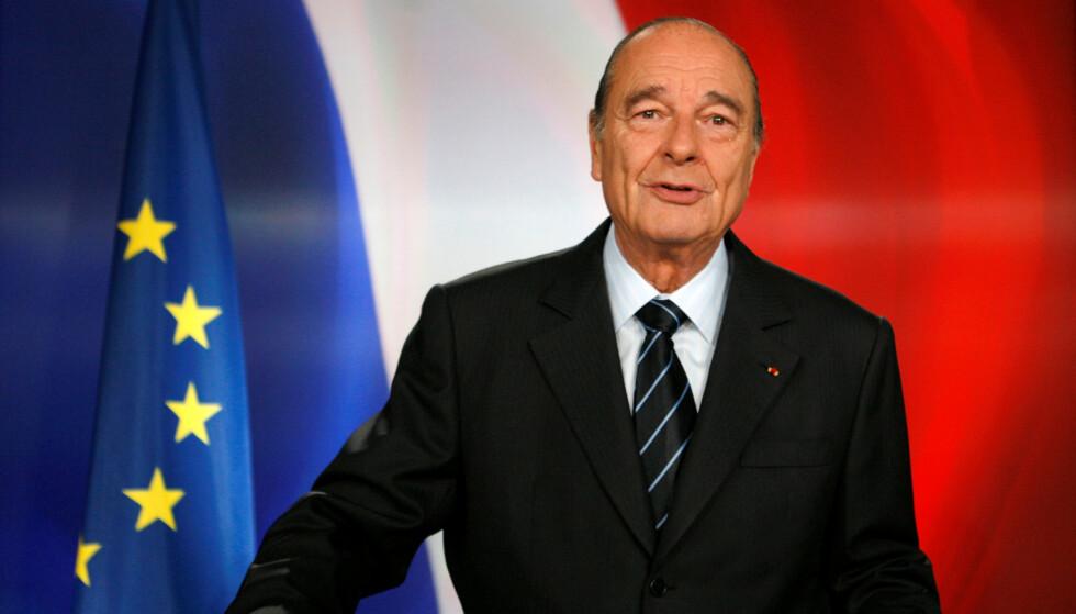 Landsfader: Jacques Chirac blir av mange hyllet som landsfader. Men ingen klarer å forholde seg nøytrale til den avdøde franske presidenten, skriver spaltist Franck Orban. Foto: REUTERS/Philippe Wojazer/NTB scanpix