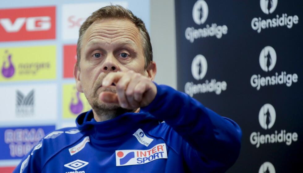 SPENT: Landslagssjef Thorir Hergeirsson mener kun VM kan vise om landslaget vil klare seg uten de skadde profilene. Foto: NTB/Scanpix