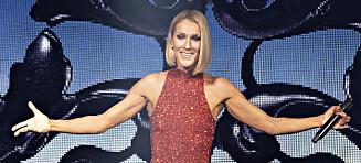 Céline Dion til Norge