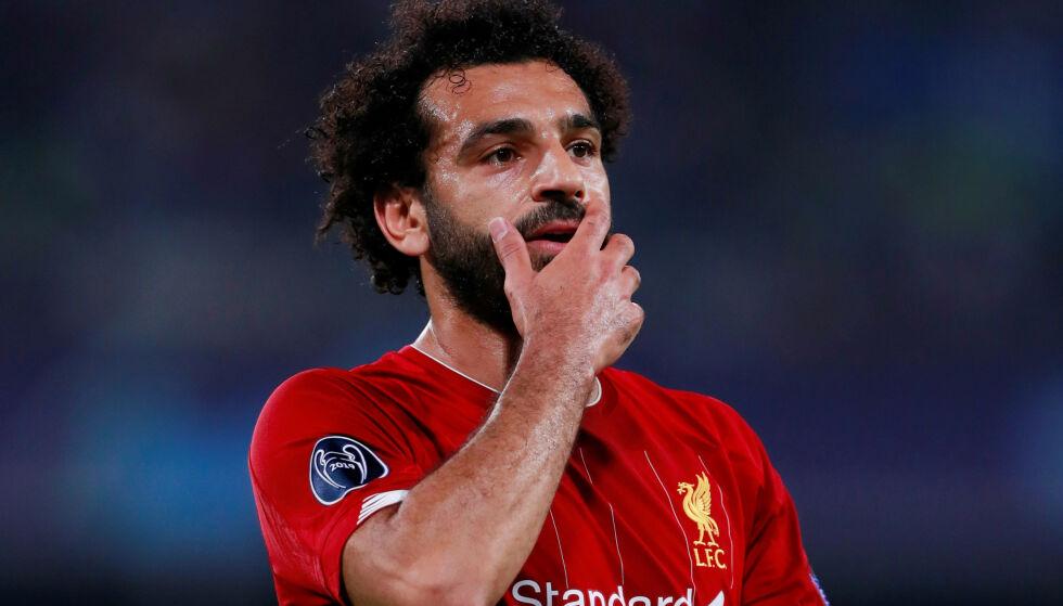 OVERSETT? Mohamed Salah føler seg oversett av eget forbund, som mener det var en administrativ feil. Foto:  Action Images via Reuters/Andrew Couldridge/NTB Scanpix