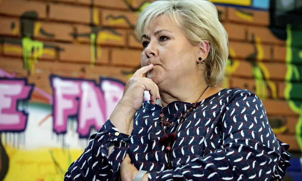 Oslo, 20190805. Debatt Erna Solberg og Jonas Gahr Støre på Blå i Oslo Foto: Nina Hansen / Dagbladet