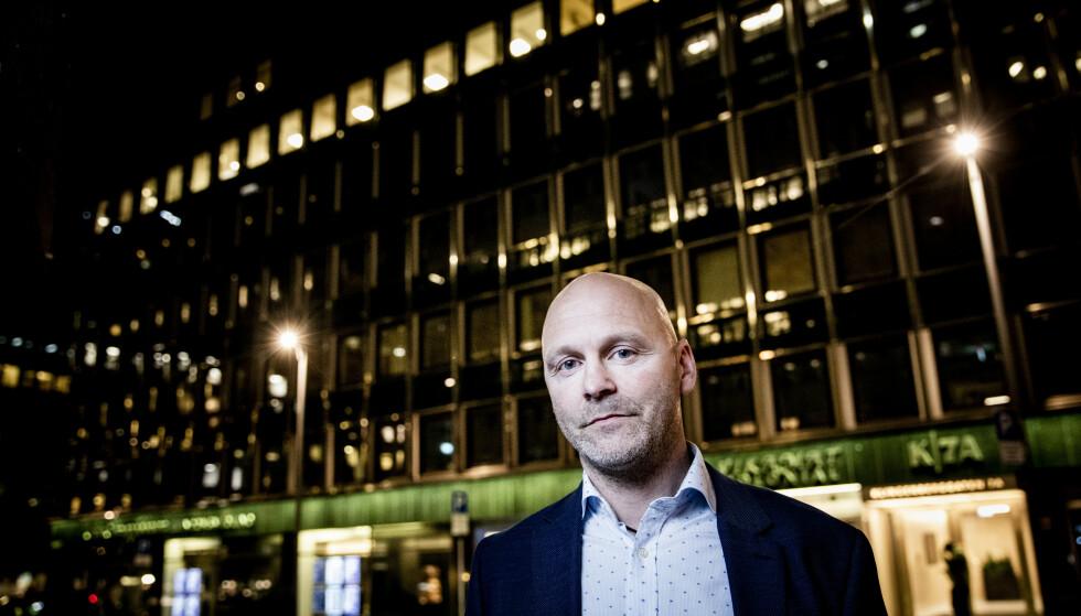 SA OPP I PROTEST: Per Eftang sa opp polititoppjobben etter 18 år i protest mot politireformen. Foto: Christian Roth Christensen / Dagbladet