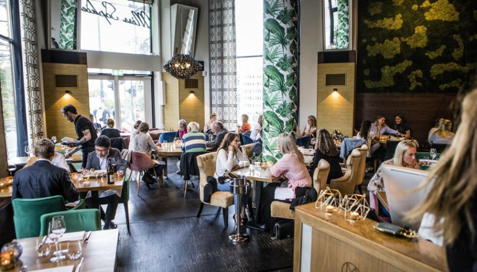 LUNSJ MED FØLGER: For det uheldige selskapet endte lunsjen med misere. (Bilde ble tatt i forbindelse med en restaurantanmeldelse tidligere i år). Foto: Christian Roth Christensen
