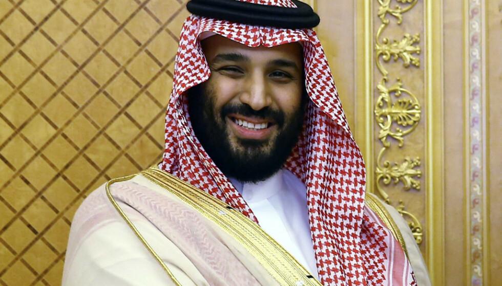 KRONPRINSEN: Saudi-Arabias sterke mann, kronprins Mohammed bin Salman. Foto: NTB Scanpix