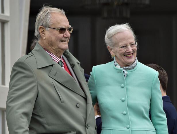 I GODE OG ONDE DAGER: Avdøde prins Henrik og dronning Margrethe var gift i 51 år. Foto: NTB Scanpix