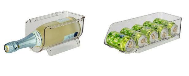 FLASKE- OG BOKSOPPBEVARING: Unngå rot i flasker og bokser med disse smarte oppbevaringene.