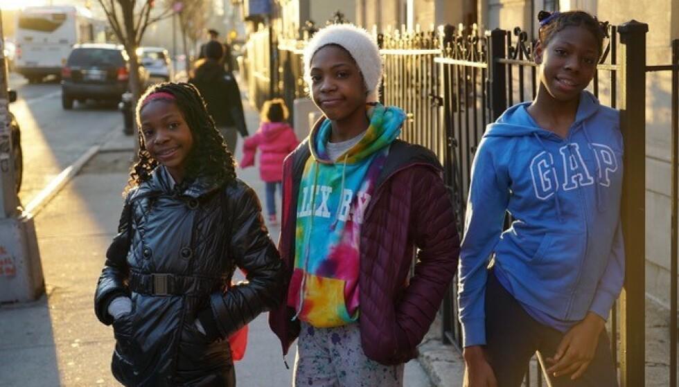 LØPETALENT: Den utrolige historien til søstrene Tai (14), Rainn (12) og Brooke (11) Sheppard fra Brooklyn i New York lanseres på Netflix. Foto: Derek Howard / Netflix